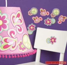 手绘色彩墙纸 个性墙面装饰盛宴