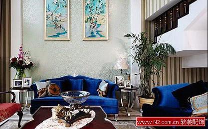 黑白打造现代简约风格三居室