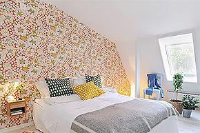 打造更多的家居风格 时尚壁纸流行两大新看点