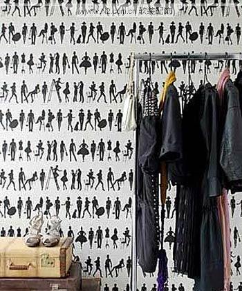 男性酷炫黑白壁纸