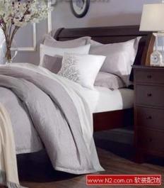 靓丽床品 自然主义家居卧室