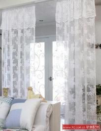 软装配饰中韩式窗帘的休闲生活