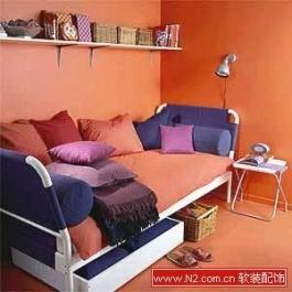 单身女孩最爱的床 温馨气氛巧打造