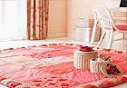 小地毯 巧饰你的卧室