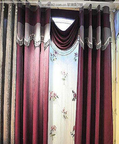 花边窗帘帘头制作方法图解