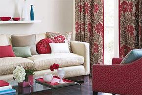 软装配饰—布艺窗帘与沙发搭配守则