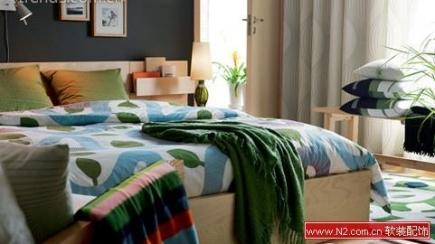 利用床品制造温馨居家格调