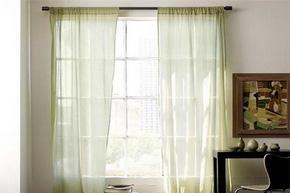 轻柔材质窗帘 为家居增添自然美感