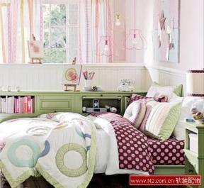 绝美卧室床品 打造睡梦天堂