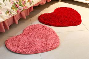 可爱温馨 韩式地毯装饰美满家居