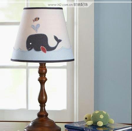 软装设计 儿童房可爱灯具
