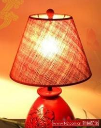 软装中的典雅中式灯具