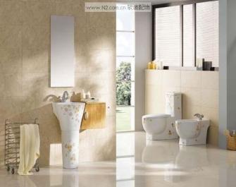 软装设计多样化的陶瓷卫浴