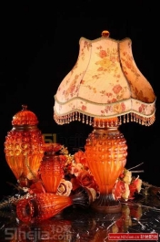 雅尔卡迪新古典DIY雕刻台灯