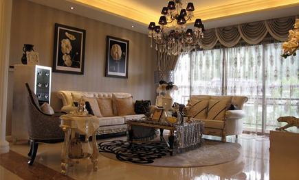 桂林私人别墅软装配饰设计