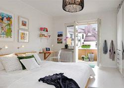 北欧风格的卧室设计