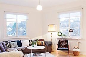 国外北欧风格样板房软装设计案例