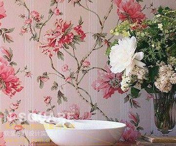 绽放的花卉 浓情壁纸装饰的背后含义图片