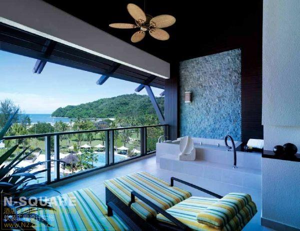 海天一色拉莎利雅度假酒店设计案例