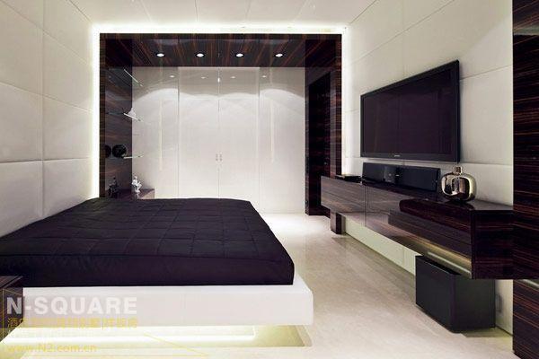 黑檀欧式电视机背景墙