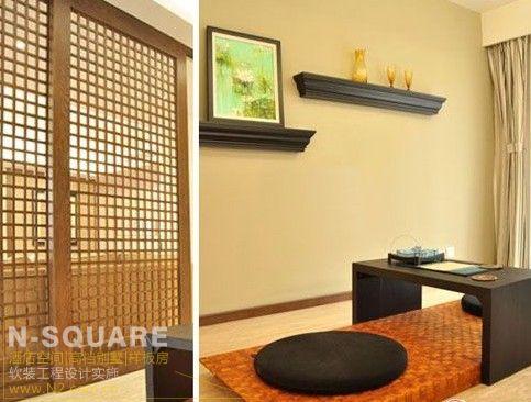 日式风格装修 - 样板房配饰