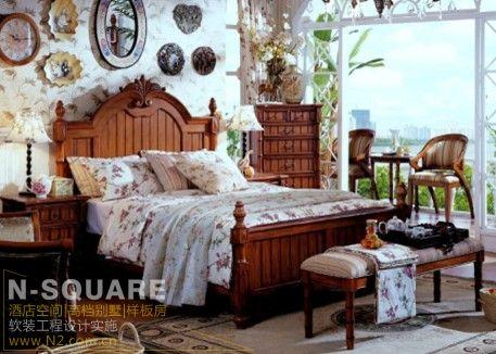 美式乡村风格 - 别墅豪宅配置 - n2软装设计图片