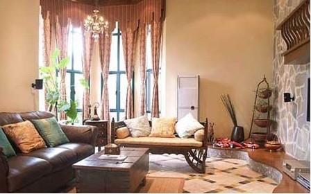 朴素风格装修样板房在配饰上除了干净之外,更是追求精神上的