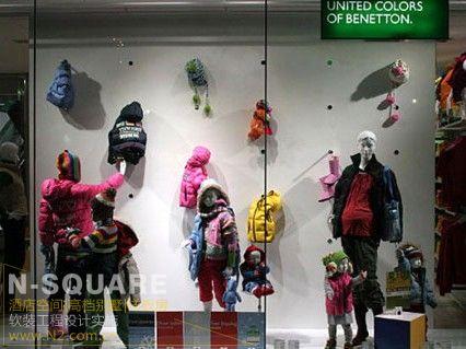 儿童节商场陈设布置_n2软装设计
