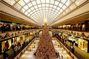 圣诞节商场陈设布置