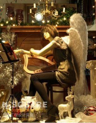 圣诞节商场陈设布置_n2软装设计