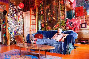 活在色彩的视觉公寓设计