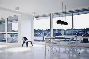 灰白极简公寓软装设计案例