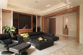 台湾现代简洁公寓软装设计