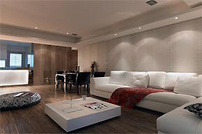 舒适自然的台湾样板房设计