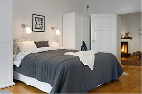素雅明亮的写照_136平北欧风格公寓设计