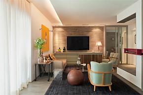 丰富色彩迷幻世界:巴西圣保罗酒店式公寓设计