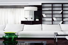 尽显线条美感_莫斯科简约公寓设计