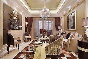 优雅尊贵气质_江苏新古典风格样板房设计