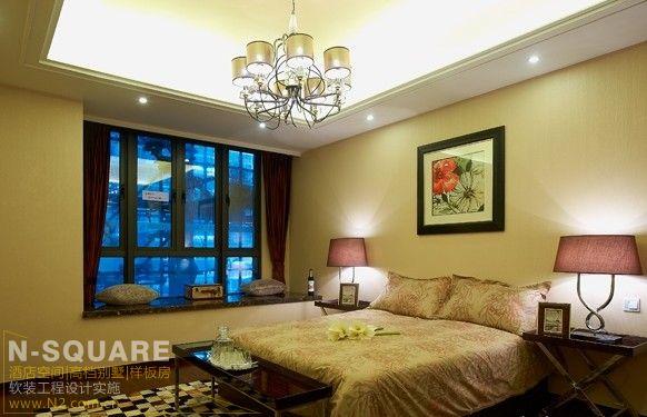 现代美式风格样板房设计