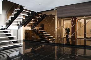 独特三角枝叶装饰:伊朗住宅楼设计