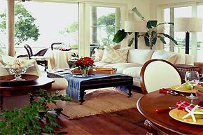 小地毯大作用_3大空间软装巧搭配