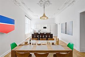 现代与传统相结合_柏林北欧风格公寓设计