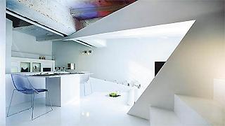 独特有趣折叠的公寓样板房设计