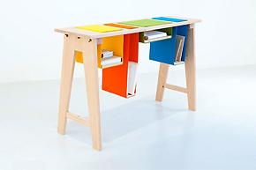节约生活空间_5个边桌诠释精致家居感