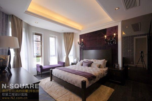 现代美式风格别墅室内设计案例