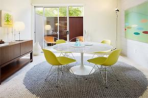 清爽海滩风格色调_完美整洁阁楼公寓设计