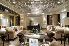 华丽软装艺术典范:上海外滩样板房设计