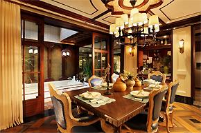 中西合璧精致空间:成都350平别墅设计