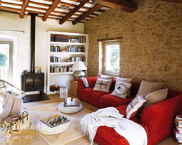 美国西部乡村风格_中世纪西班牙风格别墅软装布置设计 - 别墅豪宅配置 - N2软装设计