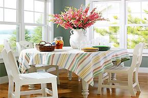 冬至餐桌完美布置_8款桌布掀起节日新气象